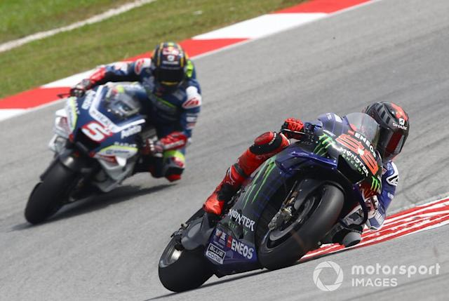 "Jorge Lorenzo, Yamaha Factory Racing, Johann Zarco, Avintia Racing <span class=""copyright"">Gold and Goose / Motorsport Images</span>"