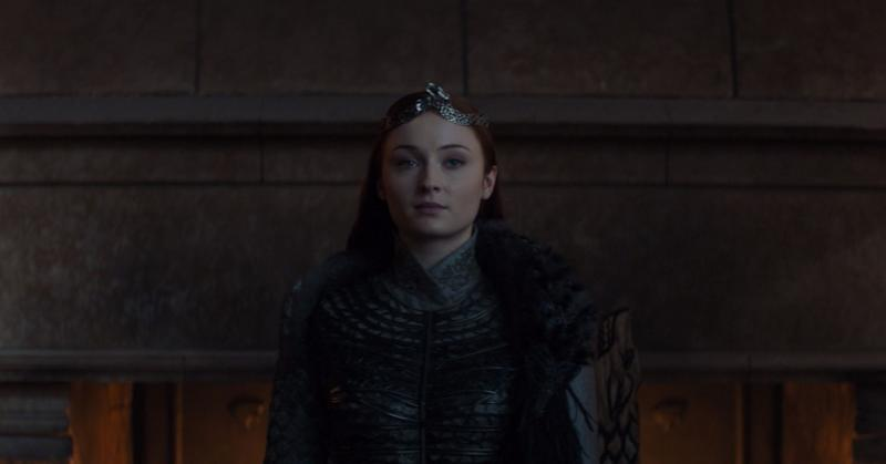 "She's the queen that was promised.<br /><br />Sansa (Sophie Turner) knew what she was doing when she revealed the truth about Jon's parentage to Tyrion in Episode 4. The information spread like dragon fire in King's Landing and eventually caused the downfall of Daenerys Targaryen, putting the Starks in control of Westeros.<br /><br />Now, after eight seasons of being beaten, broken and ignored at every turn, Sansa ended ""Game of Thrones"" as the ruler in the North, now an independent kingdom. <br /><br />For Northerners, lemon cakes are coming."