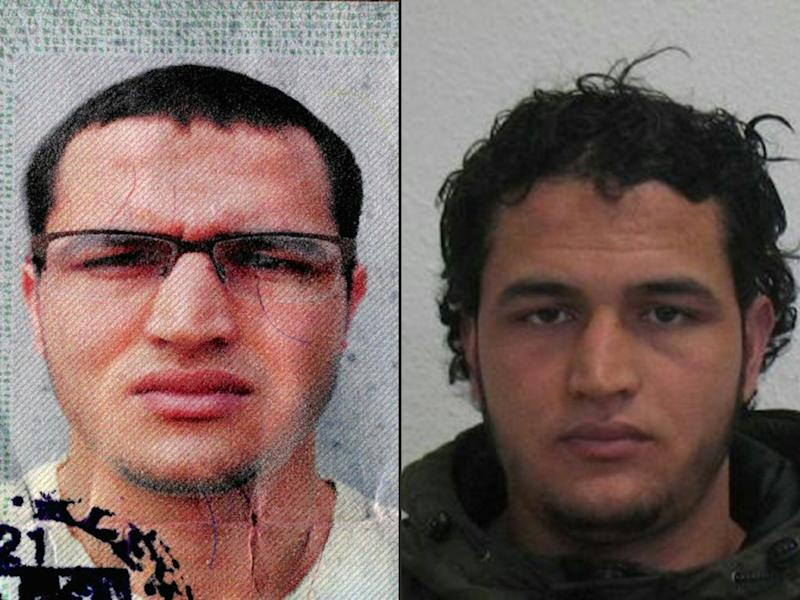 Tunisian Anis Amri, 24, is believed to have hijacked a truck and used it to mow down holiday revellers at a Berlin Christmas market (AFP Photo/)