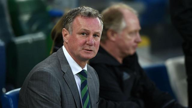 Northern Ireland are disappointed to lose Michael O'Neill to Stoke City, but he would oversee a potential Euro 2020 play-off in a dual role.