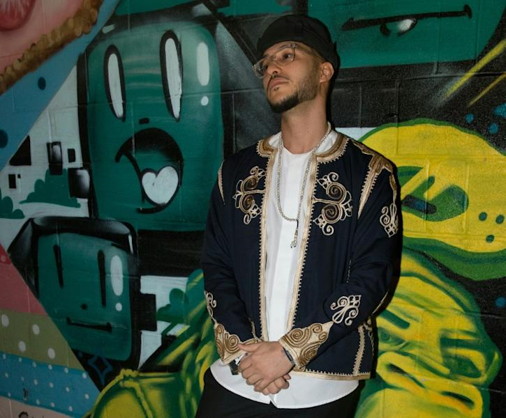 Libyan-American rapper Khaled Ahmed staged a professional comeback after lying low on legal advice after US authorities crippled his career by putting him on a no-fly list