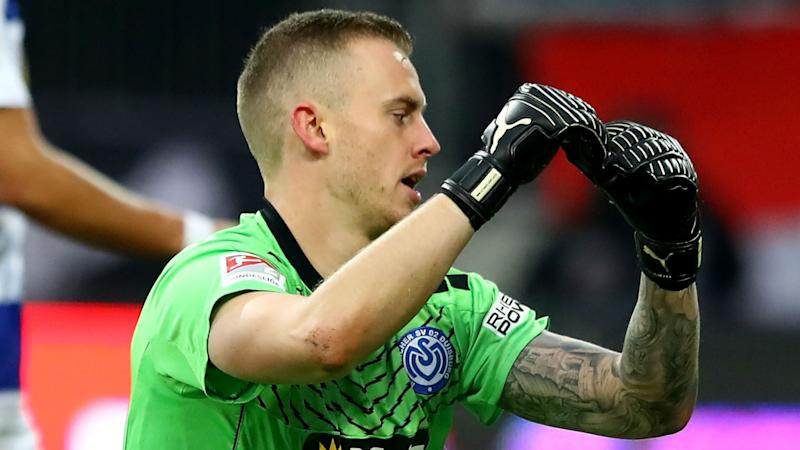 Ingolstadt score bizarre tap-in after Duisburg goalkeeper goes AWOL