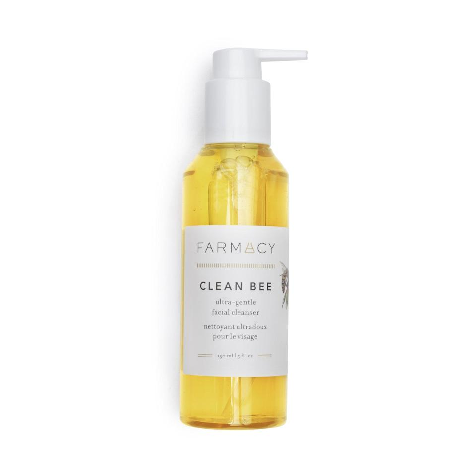 <p>Honey and hyaluronic acid are the stars of the show in this <span>Farmacy Clean Bee Ultra Gentle Facial Cleanser</span> ($28). The standout ingredients both help to cleanse the skin while maintaining its natural moisture barrier.</p>