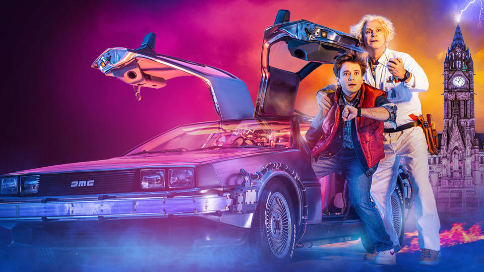 Olly Dobson and Roger Bart are set to star in 'Back to the Future: The Musical'. (Credit: Manchester Opera House)