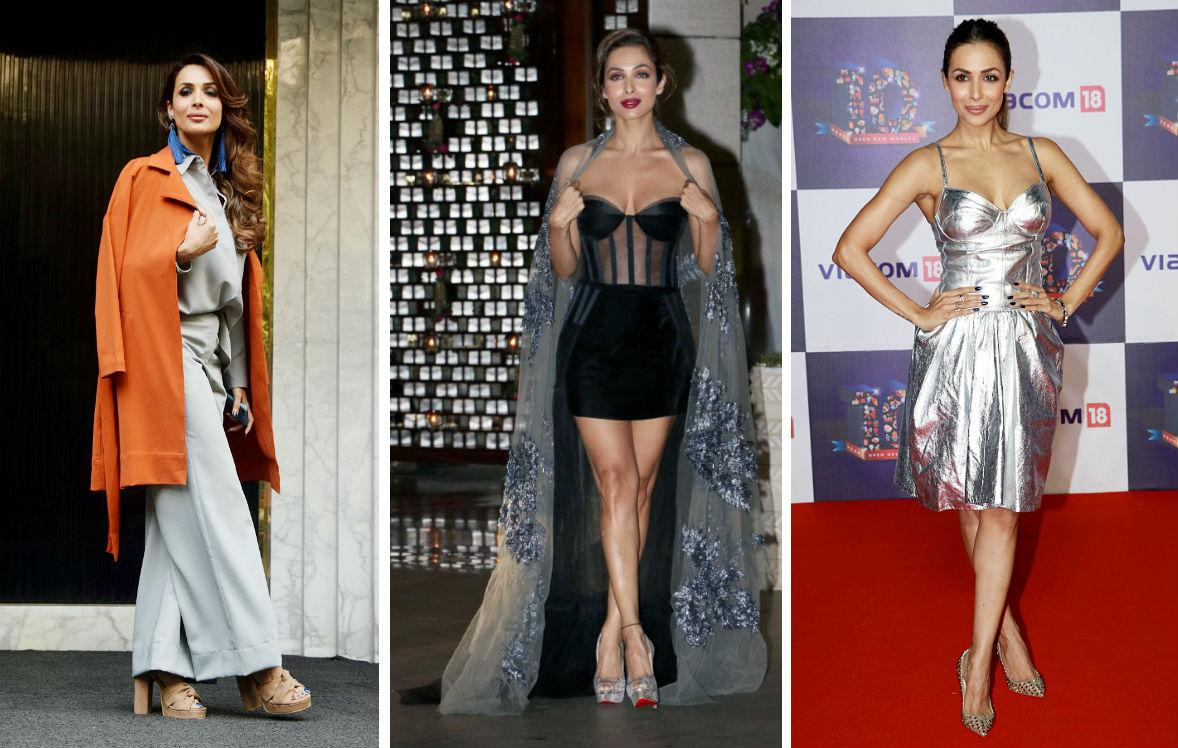 <p>Who said 40-year-olds can't be stylish? This sultry model-actress-reality show judge makes heads turn wherever she goes, be it gym, red carpet and even at the airport. Undoubtly, Malaika is one of the best dressed celebrities of Bollywood. </p>
