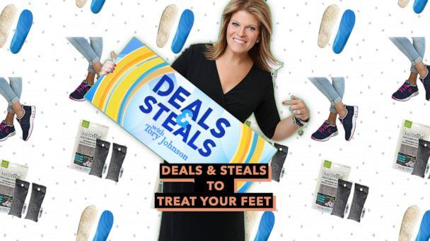 PHOTO: Deals & Steals to treat your feet (ABC News, Bear Soles, Moso Natural, Therafit)