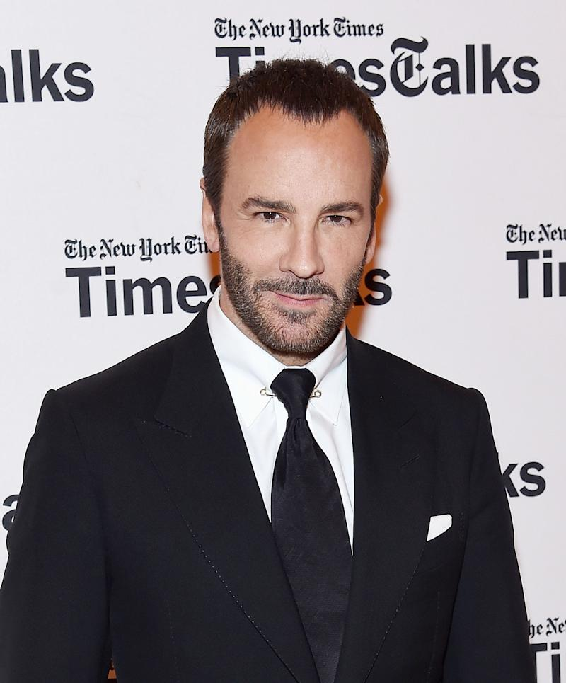Tom Ford Runs on Dunkin', Has Some Thoughts About Trump