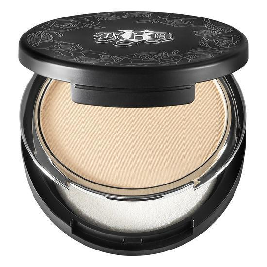 <p>Kat Von D Beauty never tests their products on animals. Their beauty line specifically marks their vegan products with a #VeganAlert so consumers will know which makeup collections and shades are vegan. This compact foundation comes in pressed powder form and is known to be silky smooth and soft when applied. It comes with a sponge applicator and boasts a full 24 hours of coverage. </p>