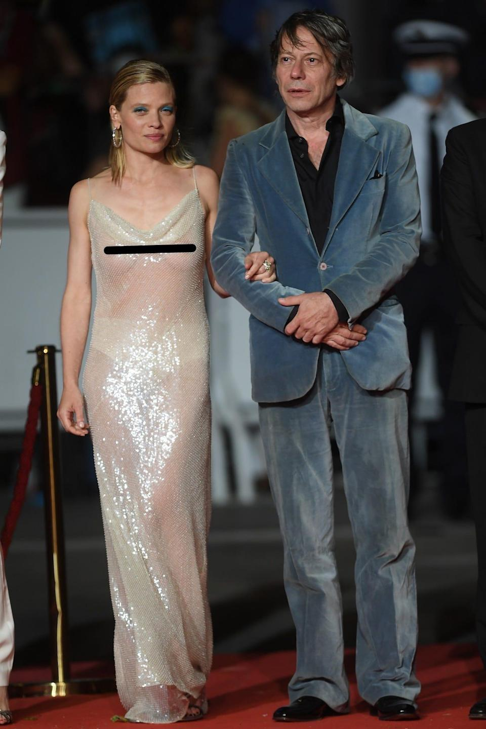 Melanie Thierry at the 2021 Cannes Film Festival.