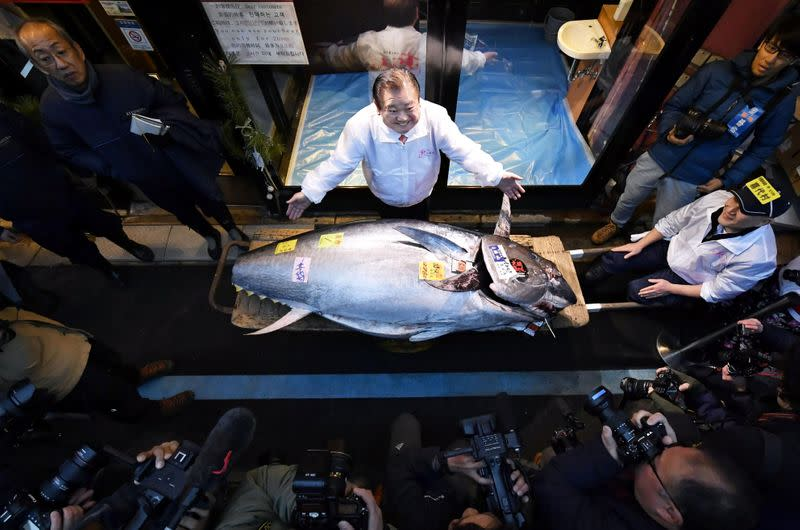 Tuna sells for $1.8 million in first Tokyo auction of 2020, second highest ever