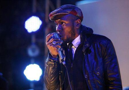 "Mos Def performs during the ""Discover Music!"" event at Capitol Studios in Hollywood"