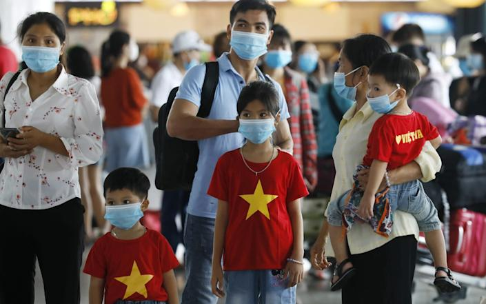 According to media reports, Vietnam has evacuated 80,000 people, mostly tourists - LUONG THAI LINH/EPA-EFE/Shutterstock
