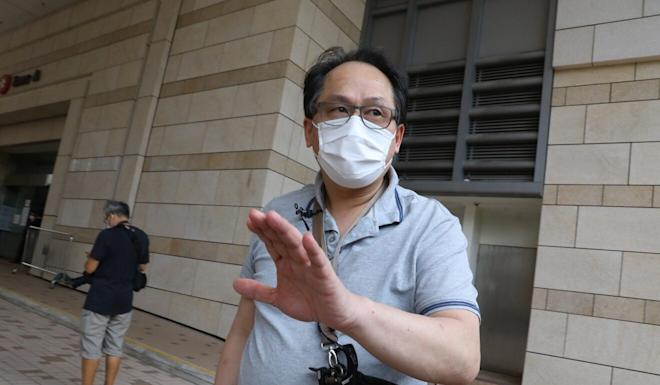 Taxi driver Chow Tai-lai told the court he drove Chan Yin-lam to the seaside the night she disappeared. Photo: Dickson Lee