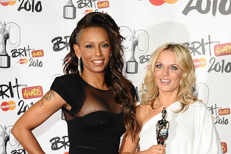 Claim: Melanie Brown and Geri Horner (PA)