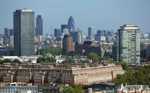A view of the capital's ever-expanding skyline - Credit: Getty