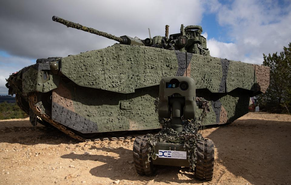 Trials of the light tank have been paused (Andrew Matthews/PA) (PA Wire)