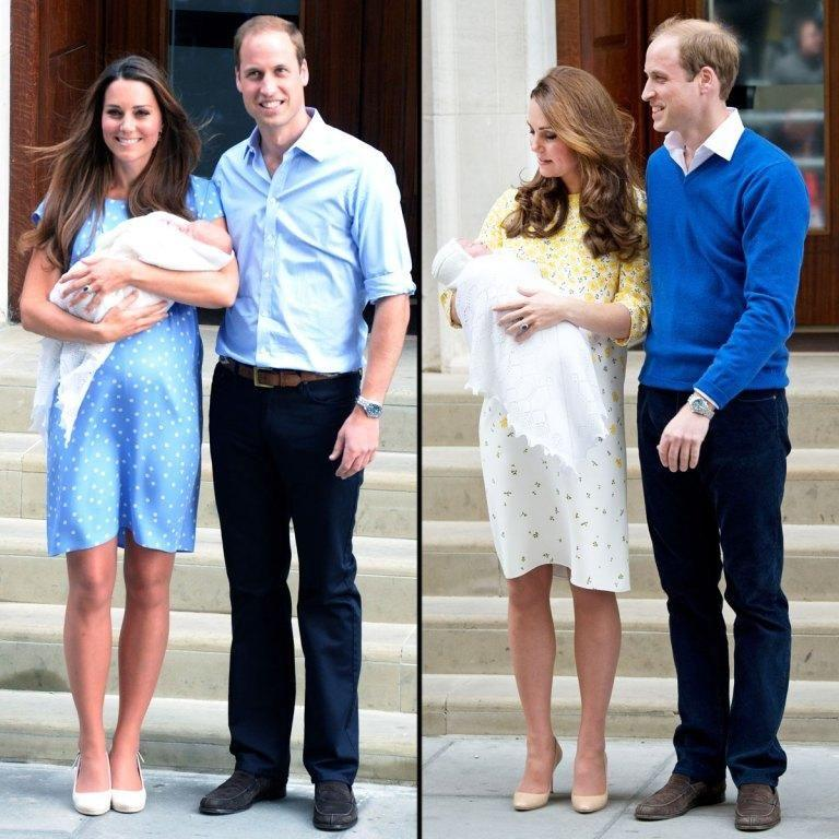 Kate has made a tradition of wearing Jenny Packham to leave the maternity hospital. Source: Getty