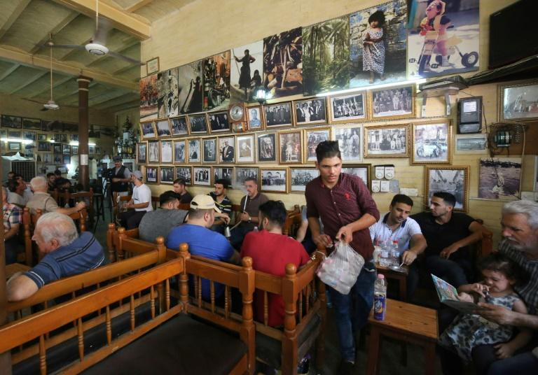 The twists and tragedies that have struck Iraq over the decades have all left their mark on the cafe