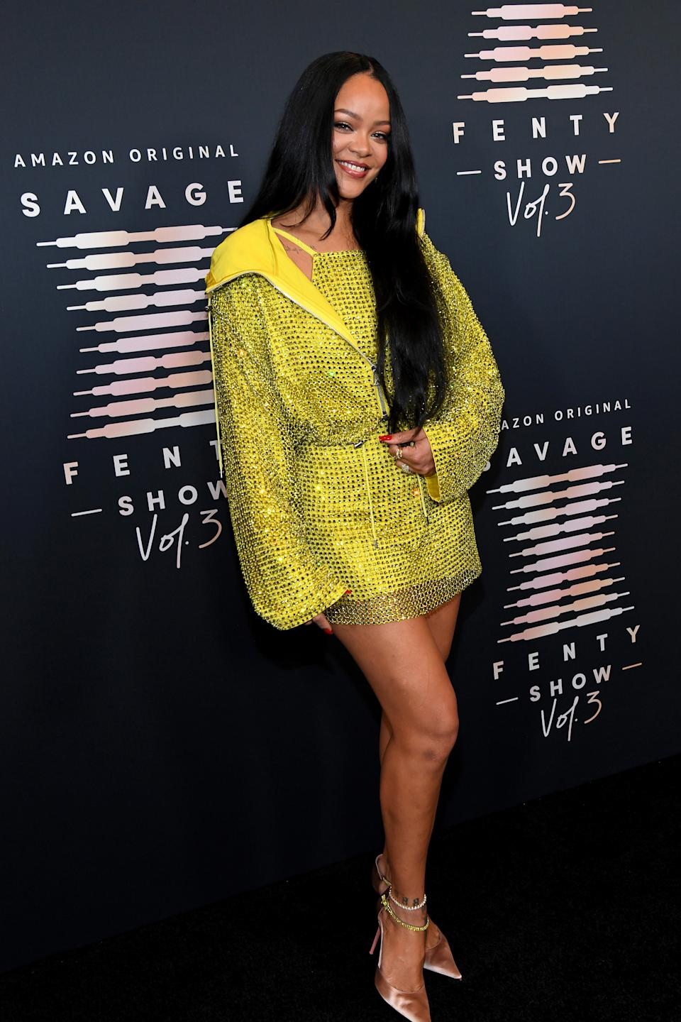 (Bild: Kevin Mazur/Getty Images for Rihanna's Savage X Fenty Show Vol. 3 Presented by Amazon Prime Video)