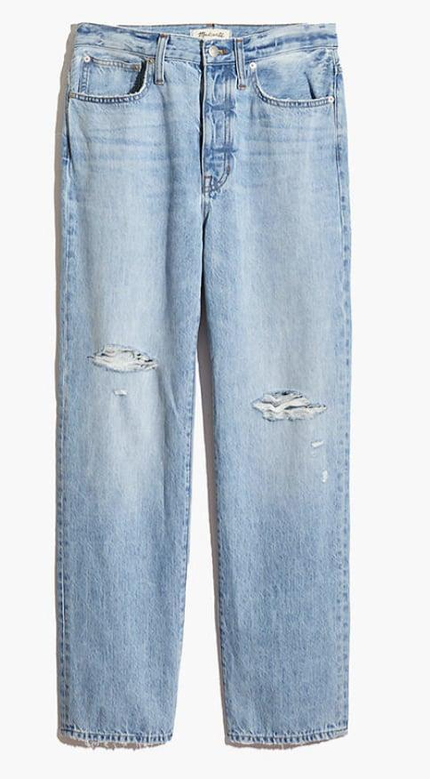 <p><span>Madewell The Dad Jean in Millman Wash</span> ($118) </p> <p><br></p>