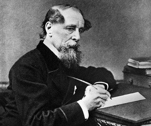 A portrait of British writer Charles Dickens (1812-1870). Britain on Tuesday marks the 200th anniversary of the birth of Dickens, acclaimed as one of the finest writers of the English language and one whose novels have become enduring classics