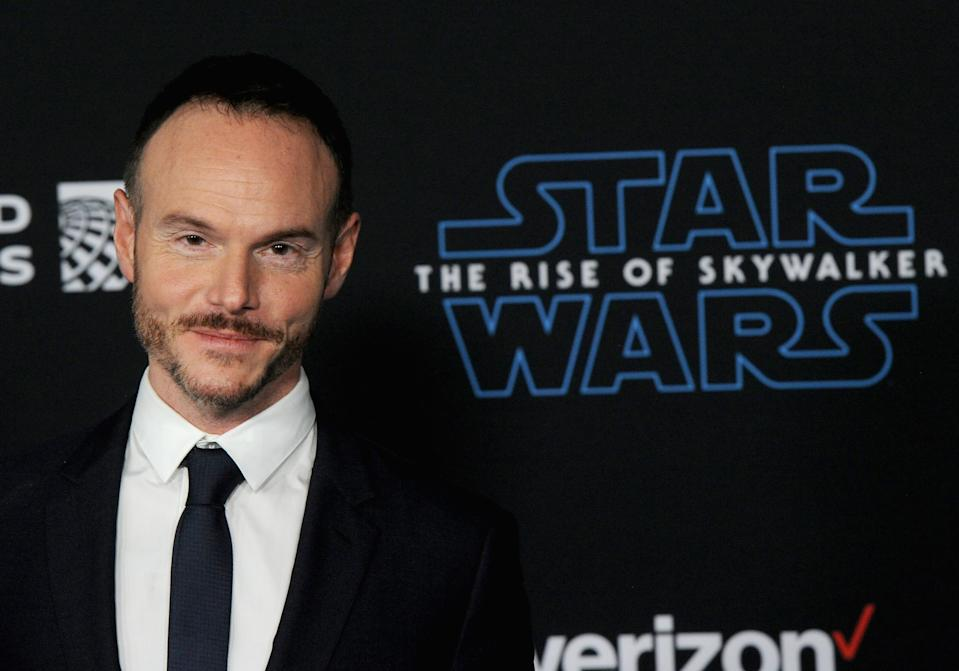 """HOLLYWOOD, CA - DECEMBER 16: Chris Terrio arrives for the Premiere Of Disney's """"Star Wars: The Rise Of Skywalker"""" held at The Dolby Theatre on December 16, 2019 in Hollywood, California.  (Photo by Albert L. Ortega/Getty Images)"""