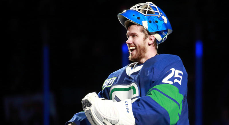 Jacob Markstrom is going to the 2020 NHL All-Star Game. (Getty Images)