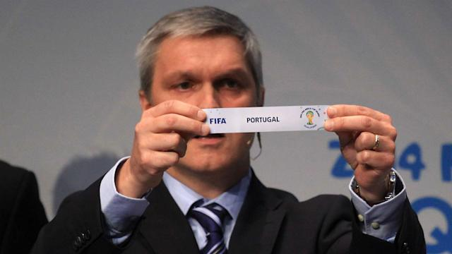World Cup 2014 play off draw Portugal