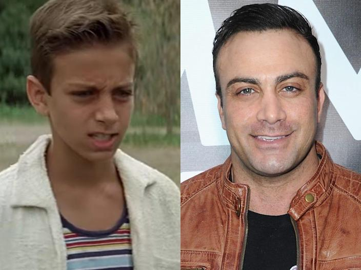 (left) marty york in the sandlot (right) marty york at the everbowl opening in 2021