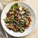 """<p>The salt and umami notes from crispy bacon and charred mushrooms are too good to resist. This is a one-pot wonder for any meal prep whiz.</p><p><em><a href=""""https://www.prevention.com/food-nutrition/recipes/a34742550/roasted-wild-mushroom-and-bacon-rotini/"""" rel=""""nofollow noopener"""" target=""""_blank"""" data-ylk=""""slk:Get the recipe from Prevention »"""" class=""""link rapid-noclick-resp"""">Get the recipe from Prevention »</a></em> </p>"""