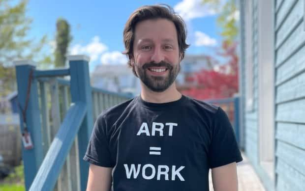 Dereck Thibault teaches business technology, drama, dance, audio recording and visual arts at Citadel High. He says one of the many challenges related to masks was that students couldn't see a teacher's smile when they were reminding them to wear masks and maintain physical distancing.