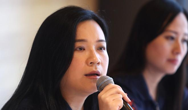 Carol Ng, chairwoman of the Confederation of Trade Unions. Photo: Winson Wong