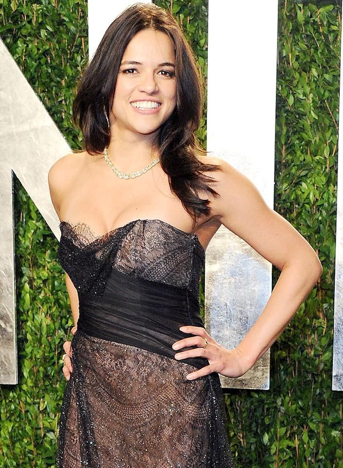 Michelle Rodriguez turns 34 on July 12.