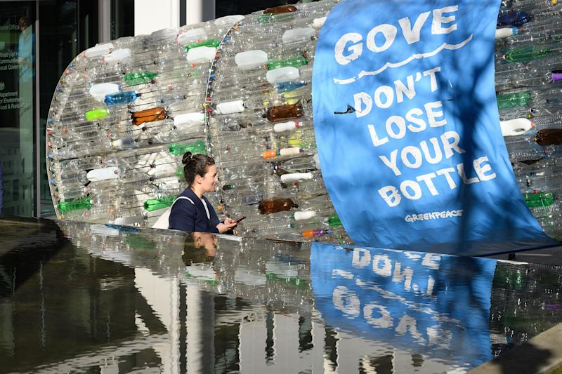 A deposit return scheme has been discussed for years – but Covid has stalled already-slow progress. (Photo: Leon Neal via Getty Images)