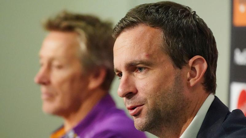Melbourne CEO Dave Donaghy is planning for the Storm to be playing away games when the NRL resumes