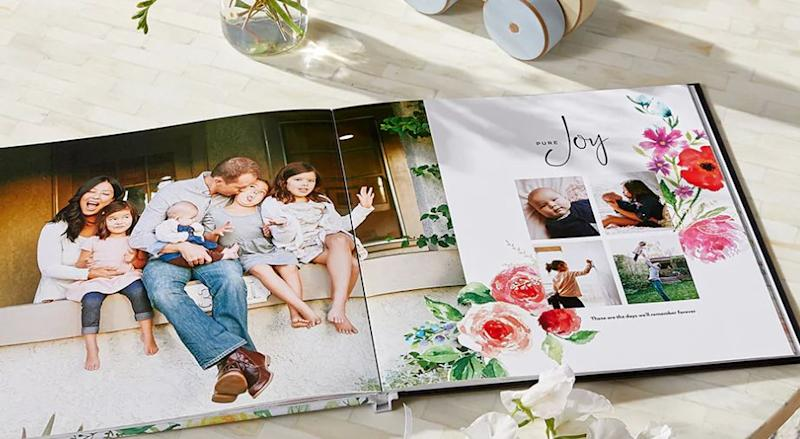 Hardcover photo book. (Photo: Shutterfly)