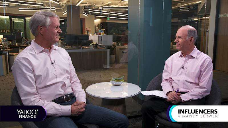 Service Now CEO John Donahoe appears on Influencers with Andy Serwer.