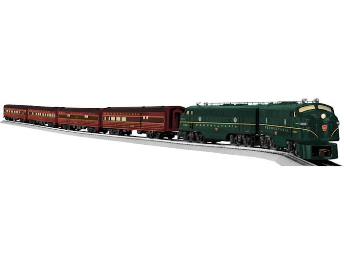 <p>Lionel's nostalgic electric train sets evoke a bygone era (and are now made with 21st century technology), but if you happen to find an original Lionel set in your attic, check if it's the 1934 Standard Gauge version, which could be worth as much as $250,000. </p>