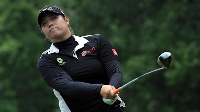 Ariya Jutanugarn birdied the second hole of a playoff Sunday to win the Kingsmill Championship for the second time in three years.