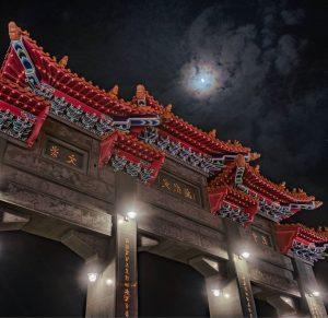 Located on the picturesque shores of Lake of the Sun and the Moon (Sun Moon Lake) the Wen Wu temple is a spiritual Mecca built in 1938. (Courtesy of Breckler Pierre)