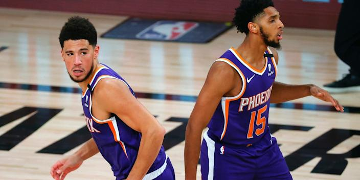 The Phoenix Suns are 3-0 in the bubble.