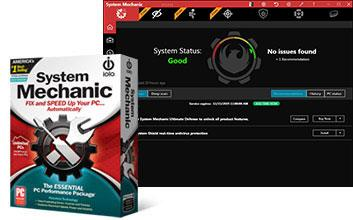 Try System Mechanic for 30 days free. (Photo: iolo)