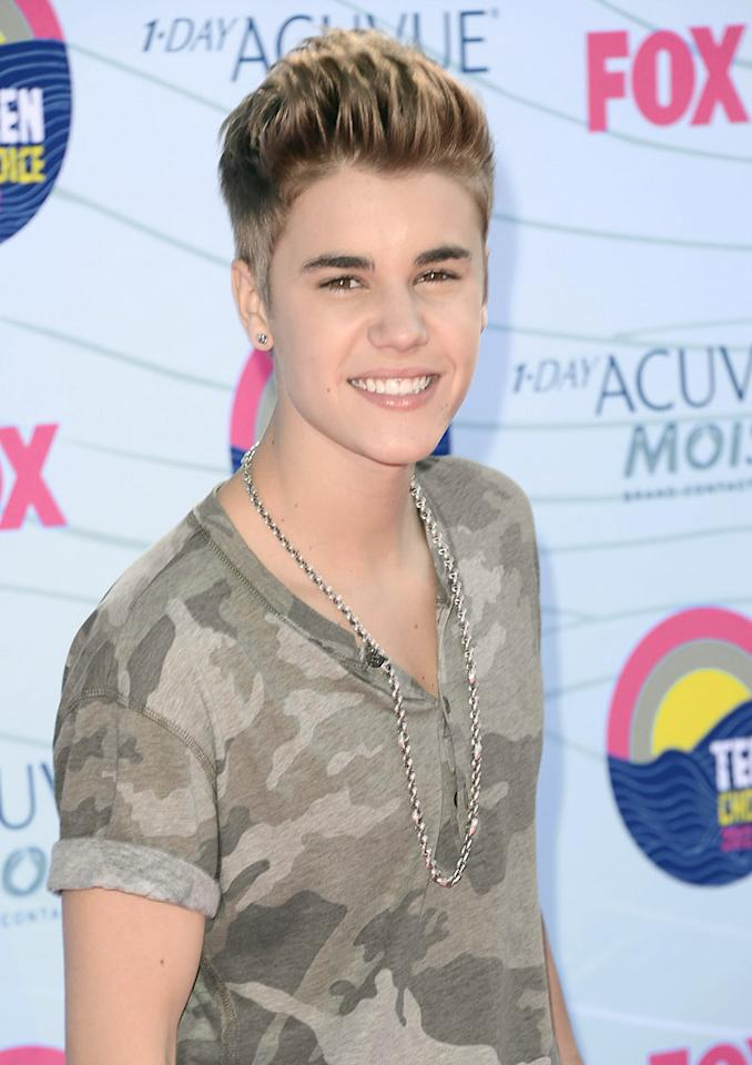 """<p class=""""MsoNormal"""">Justin Bieber plans to bottle his own sweat, reveals the <i>National Enquirer</i>. The magazine says that after recently working out at the gym, the singer pointed to """"moisture on his muscular arms,"""" and said, """"We're gonna bottle some to auction off."""" For how and when his perspiration will be bottled and sold, see what Bieber's manager tells <a href="""" http://www.gossipcop.com/justin-bieber-sweat-charity-auction-bottle-selling-bottled-perspiration/"""" target=""""new"""">Gossip Cop</a>.</p>"""
