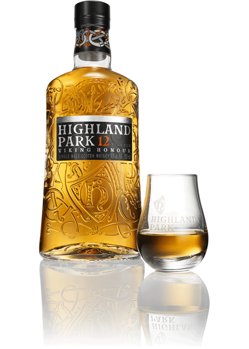 """<p><strong>Highland Park</strong></p><p>totalwine.com</p><p><strong>$59.99</strong></p><p><a href=""""https://www.totalwine.com/spirits/scotch/single-malt/highland-park-12-yr/p/4951750"""" rel=""""nofollow noopener"""" target=""""_blank"""" data-ylk=""""slk:Shop Now"""" class=""""link rapid-noclick-resp"""">Shop Now</a></p><p>Notes of heather honey, dried fruits, winter spices and Seville oranges will be apparent when you're sipping this single-malt scotch. This is the way to go for your every day whisky, but try the brand's 40-year aged scotch if you're celebrating a special occasion.</p>"""