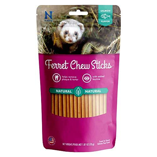 NBone Ferret Chew Treats Salmon Flavor (1.87 oz) (Amazon / Amazon)
