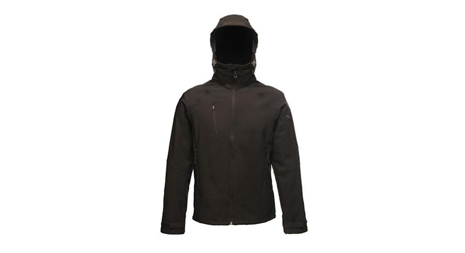 Men's Powergrid 3 Layer Hooded Softshell Jacket