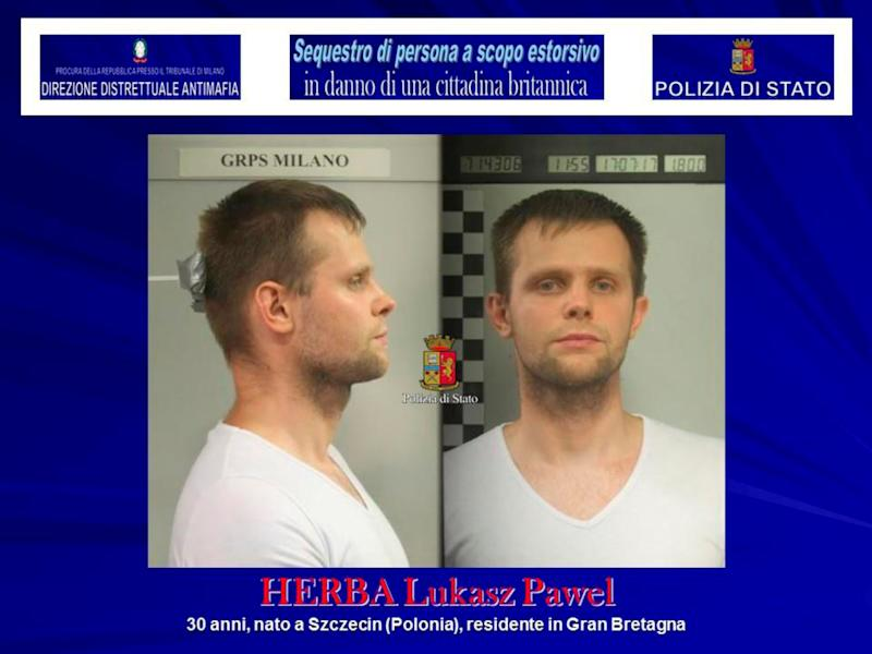 <strong>Lukasz Pawel Herba has been arrested on suspicion of kidnap and extortion</strong> (Handout . / Reuters)