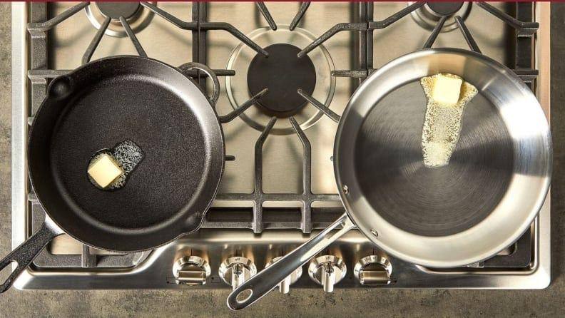 The pots and pans from the Graphite Core Collection can produce quick and evenly distributed heat.