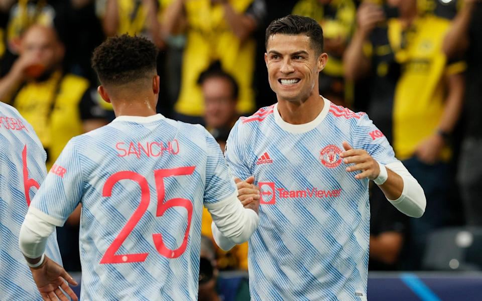 Cristiano Ronaldo, Raphael Varane and Jadon Sancho push Manchester United's wage bill to all-time high - REUTERS