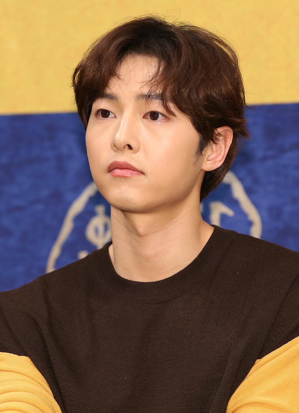 SEOUL, SOUTH KOREA - MAY 28 : Song Joong-Ki attends tvN drama